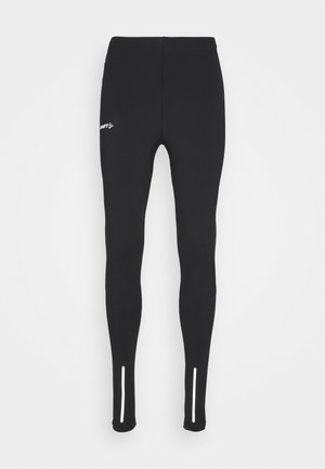 ESSENCE WARM - Leggings - black