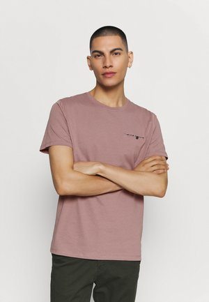 JPRDEPP POCKET TEE - Basic T-shirt - twilight mauve/
