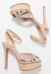 ALDO - LACLABLING - Sandaler med høye hæler - bone - 2
