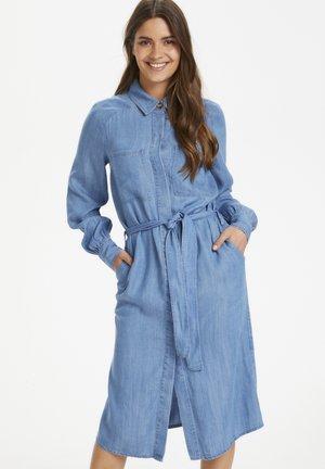 EGAPW  - Denim dress - light blue denim