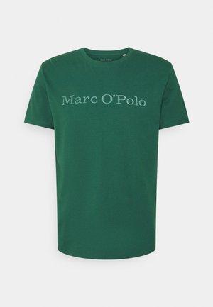 SHORT SLEEVE - Print T-shirt - mystic green