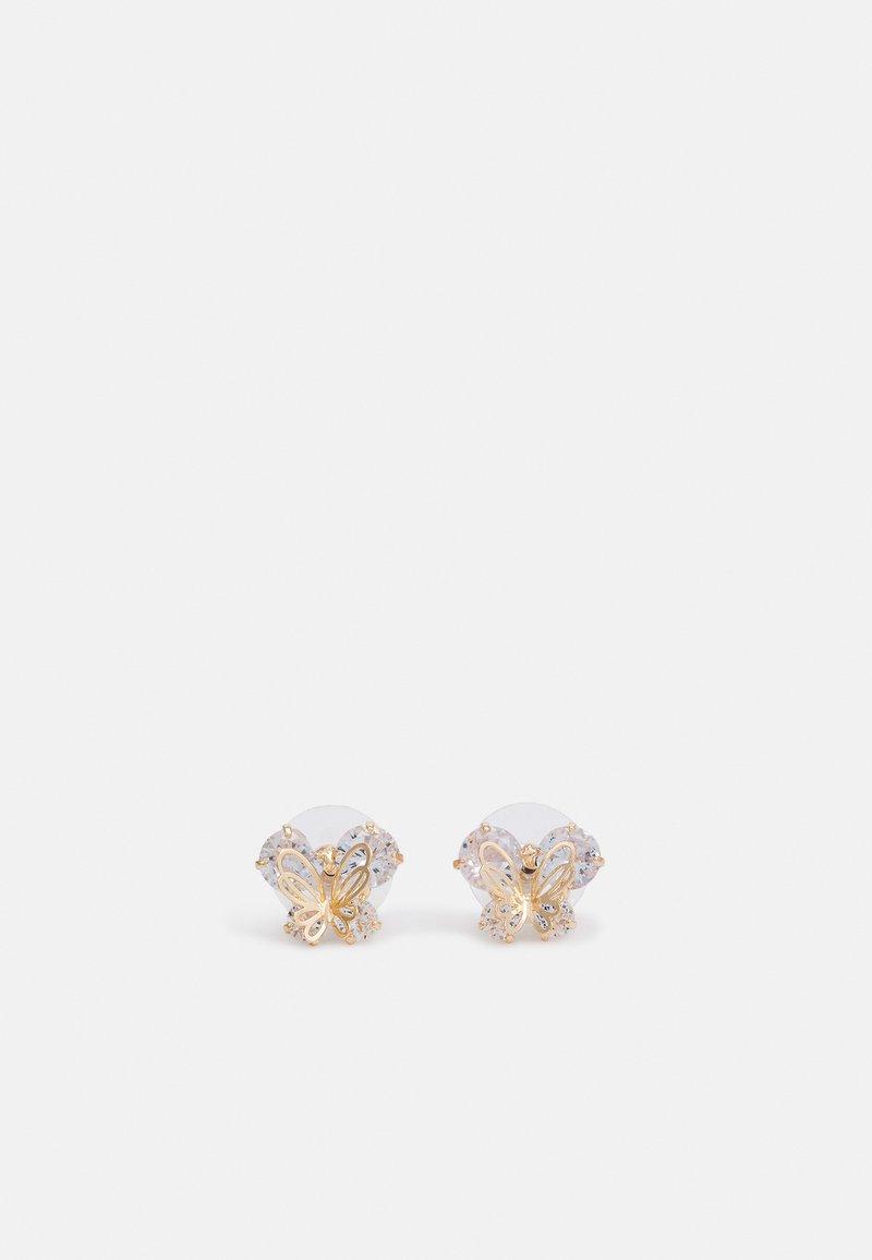 ALDO - CADARDOLDAN - Earrings - gold-coloured/clear