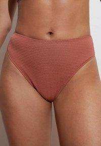 OYSHO - Bikini bottoms - light brown - 0