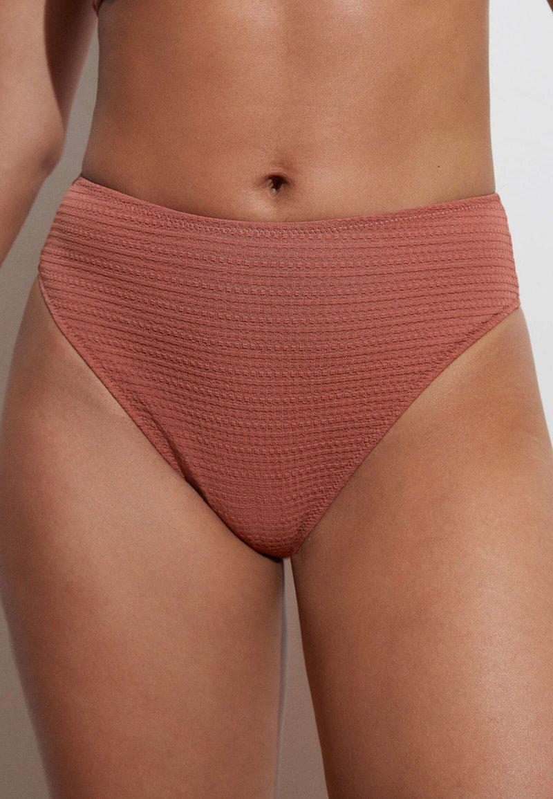 OYSHO - Bikini bottoms - light brown