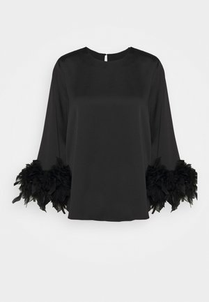 LEONIE FEATHER - Bluser - black