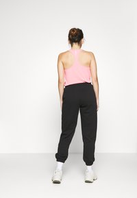 Gina Tricot Petite - BASIC - Tracksuit bottoms - black - 2