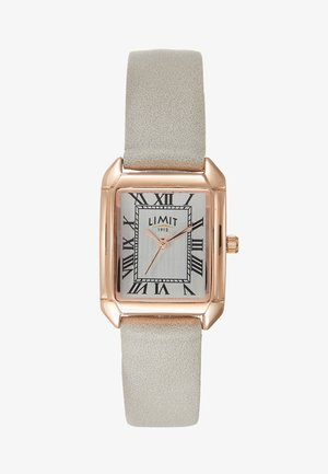ADIES STRAP WATCH DIAL WITH ROMAN - Klocka - grey
