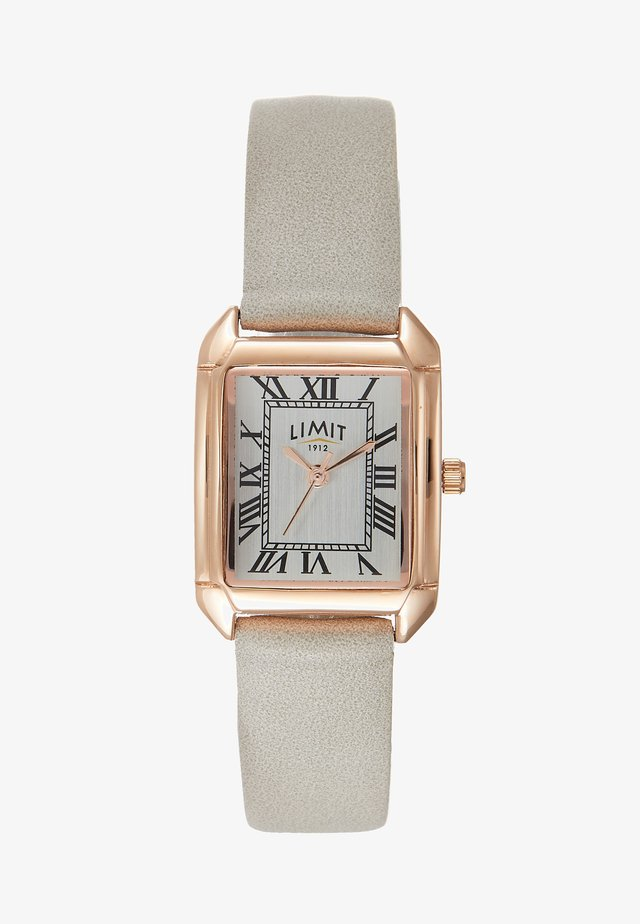 ADIES STRAP WATCH DIAL WITH ROMAN - Klokke - grey
