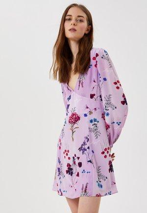 Korte jurk - violet