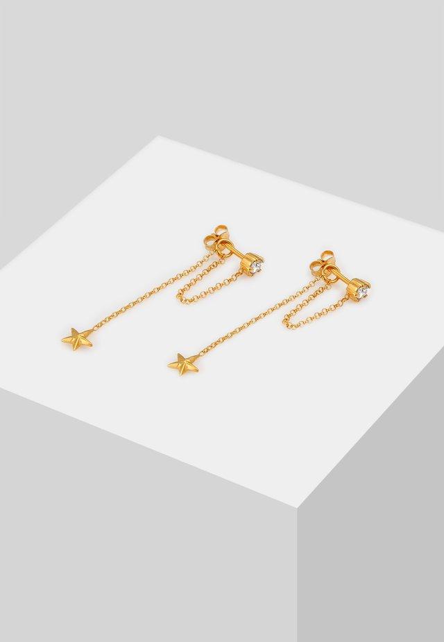 Oorbellen - gold-colored