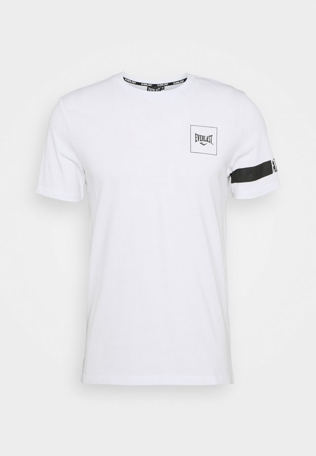 TEE KING - T-shirt print - white