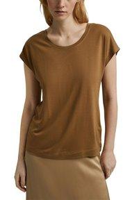 Esprit Collection - Basic T-shirt - bark - 5