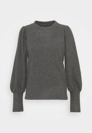 VMKINSEY PUFF - Long sleeved top - dark grey melange