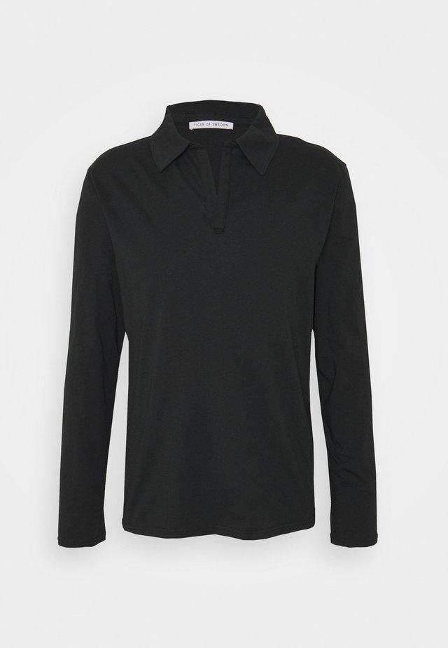 TRUANE - T-shirt à manches longues - black