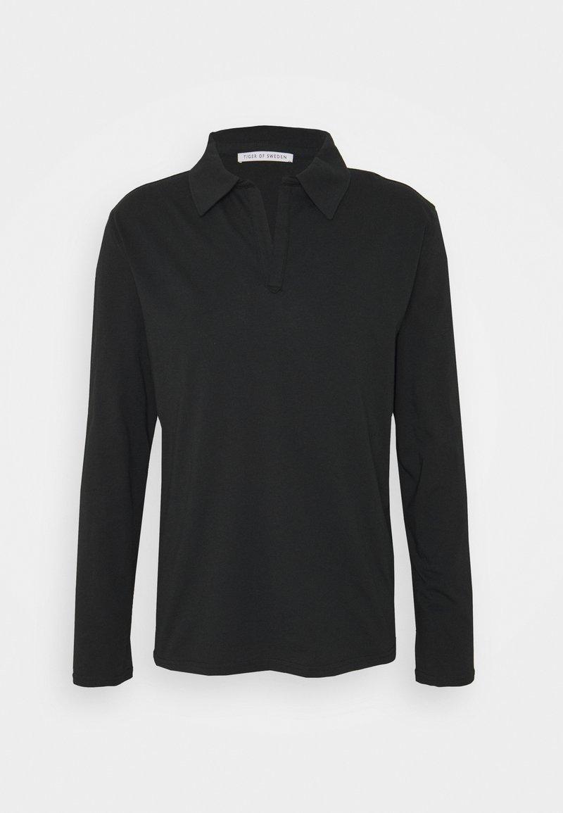 Tiger of Sweden - TRUANE - T-shirt à manches longues - black