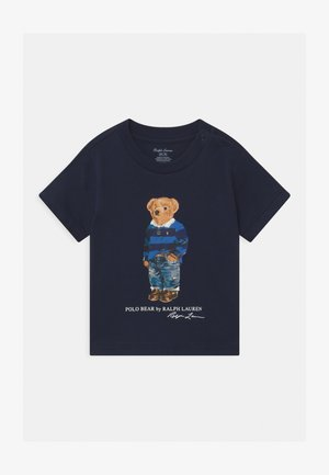 Print T-shirt - cruise navy
