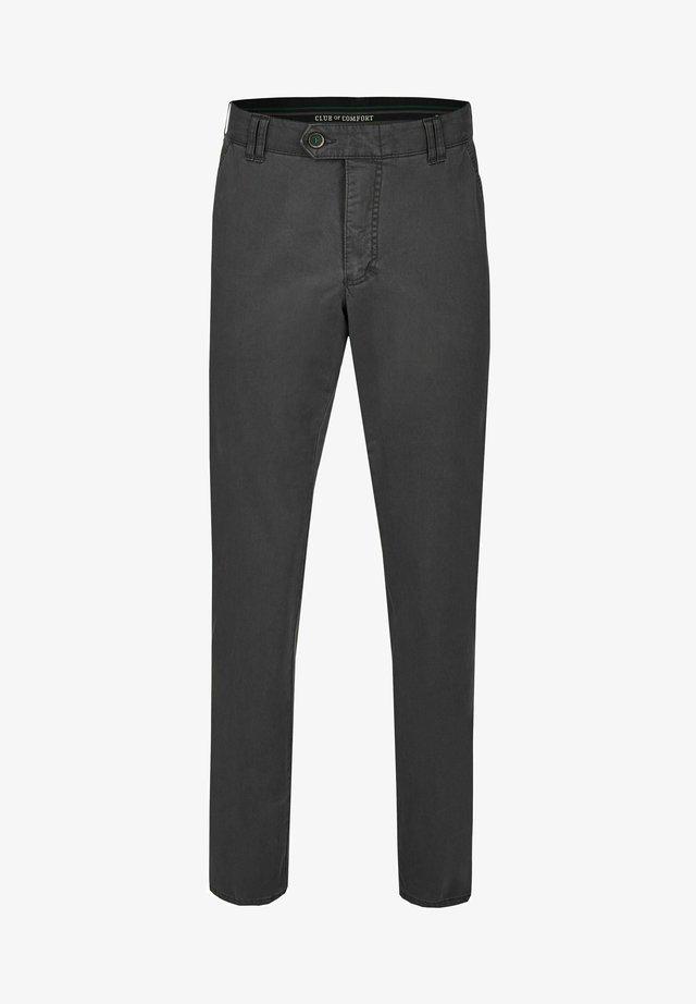 DENVER - Trousers - grau