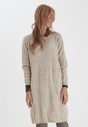 FRMESANDY - Jumper dress - beige melange