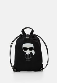 IKONIK FLAT BACKPACK UNISEX - Batoh - black