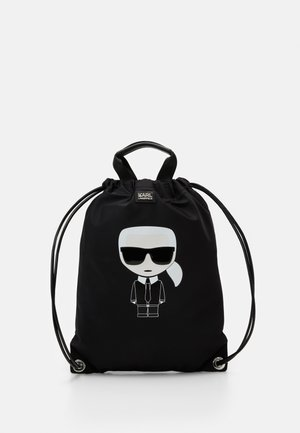 IKONIK FLAT BACKPACK UNISEX - Rucksack - black