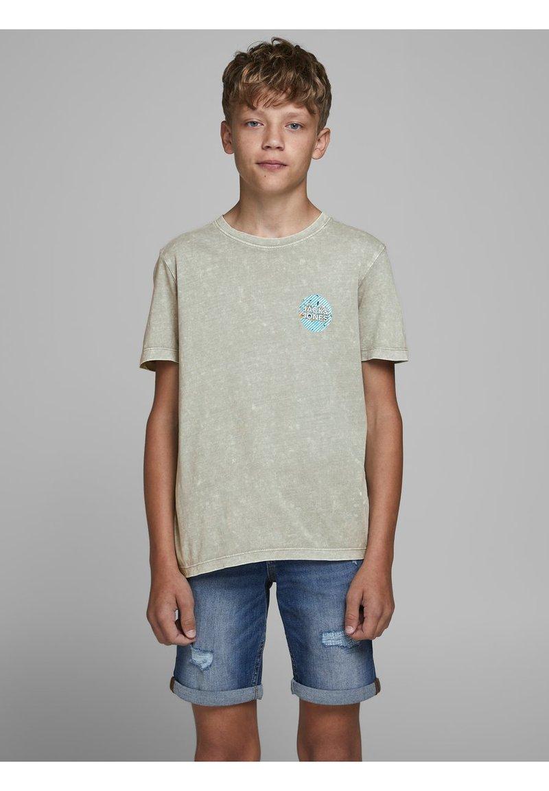 Jack & Jones Junior - Print T-shirt - drizzle