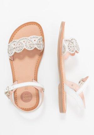 Sandalen - blanco