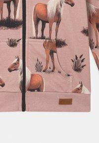 Walkiddy - BEAUTY HORSES - Zip-up sweatshirt - pink - 2