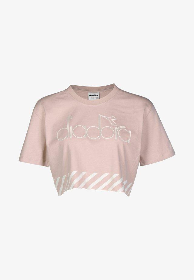 BARRA  - T-shirt print - pink smoke