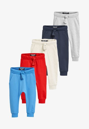 5 PACKS - Tracksuit bottoms - red
