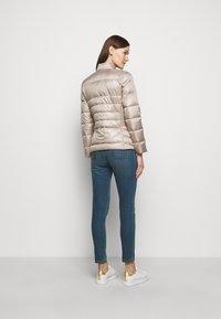 Lauren Ralph Lauren - PEARL SHEEN RACER MOTO SOFT - Down jacket - luxe - 2