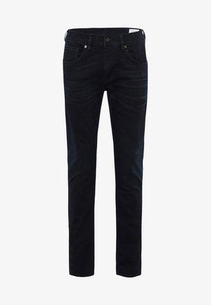 JOHN - Slim fit jeans - blue black baffies
