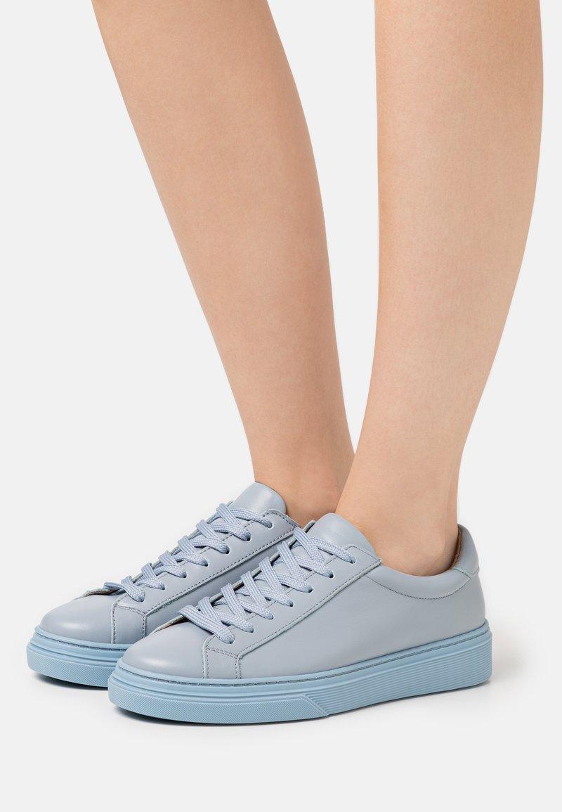 Samsøe Samsøe - OLJA  - Sneakers laag - blue mirage