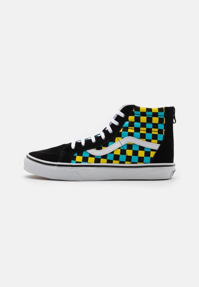 SK8 ZIP UNISEX - Sneakers hoog - black/multicolor