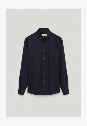 REGULAR-FIT - Formal shirt - blue-black denim