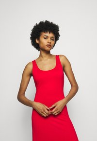 Polo Ralph Lauren - SLEEVELESS CASUAL DRESS - Žerzejové šaty - african red - 3