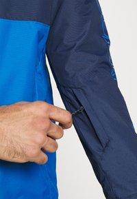 Columbia - TIMBERTURNER JACKET - Snowboard jacket - bright indigo/collegiate navy - 6