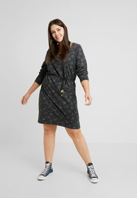 Ragwear Plus - PELIADA ORGANIC DRESS - Kjole - black - 0