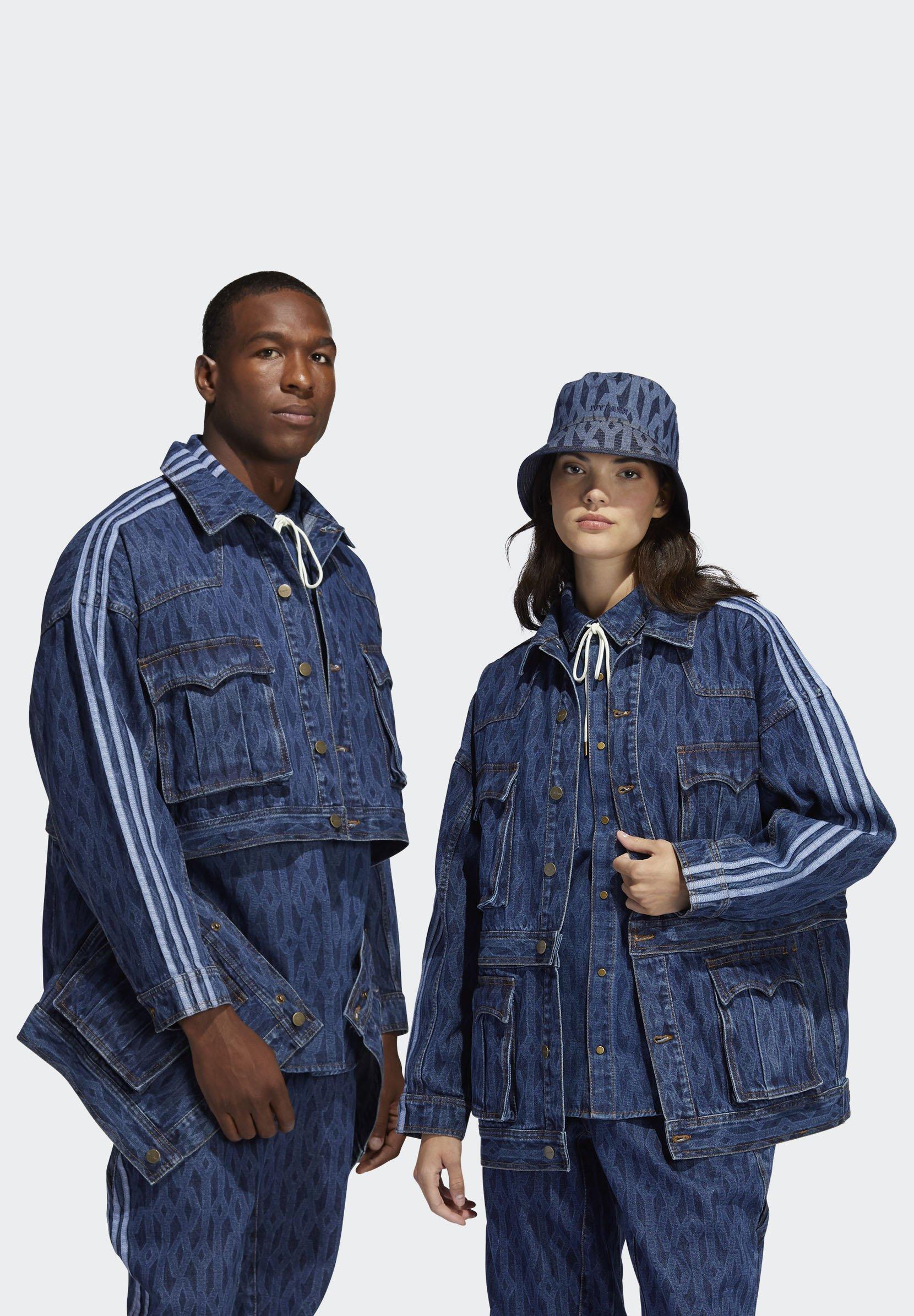 Femme IVY PARK MONOGRAM DENIM - Veste en jean