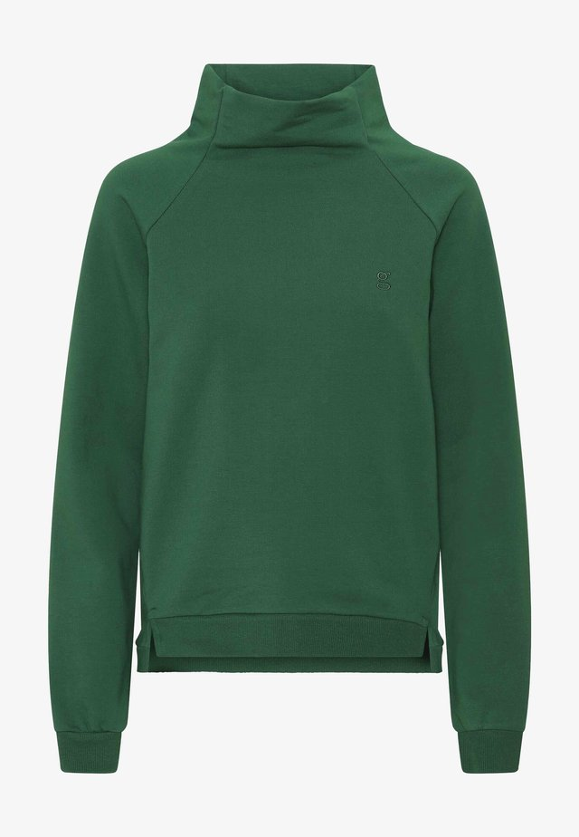 Sweatshirt - dark green