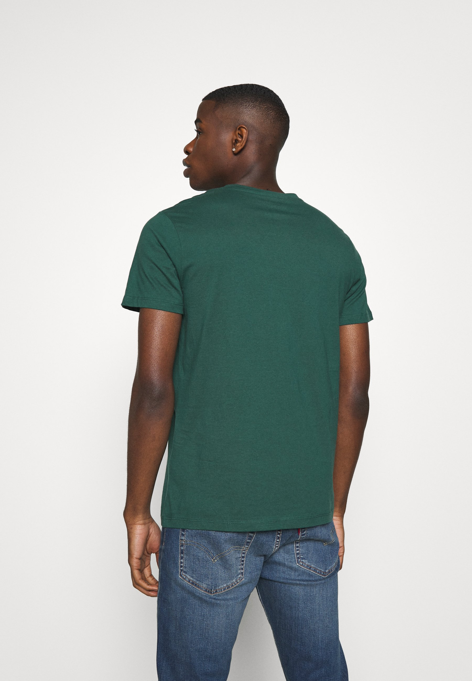 Jack & Jones JORSCALING TEE CREW NECK - Print T-shirt - trekking green lTgt4