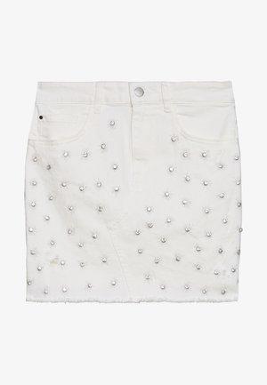 INDIA SKIRT - Jeansnederdel/ cowboy nederdele - jungle white