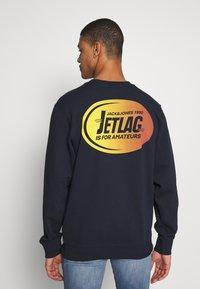 Jack & Jones - WANDER  CREW NECK - Sweatshirt - navy blazer - 2