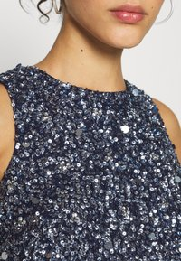 Lace & Beads - PICASSO - Top - navy - 5