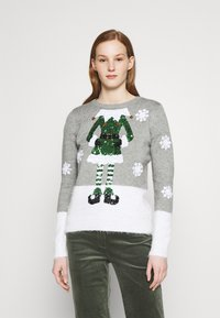 Fashion Union - CHRISTMAS ELF - Jumper - grey - 0