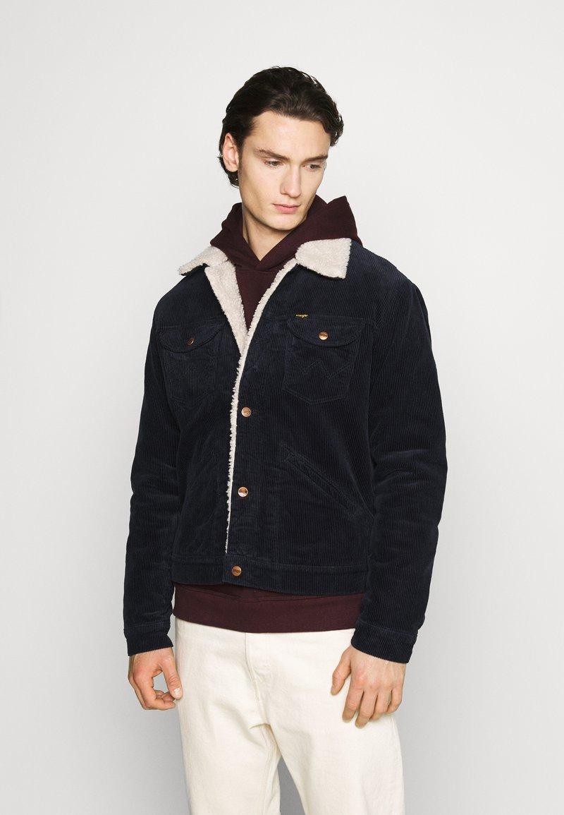 Wrangler - SHERPA - Light jacket - navy