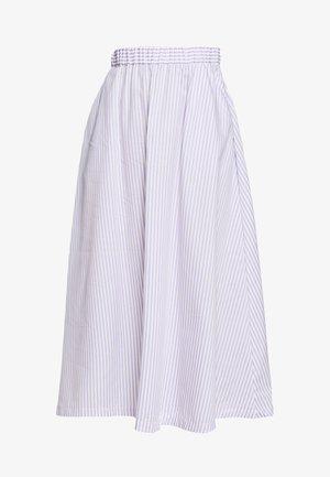 BOX - Spódnica trapezowa - lavender