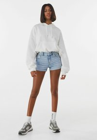 Bershka - Denim shorts - blue denim - 1