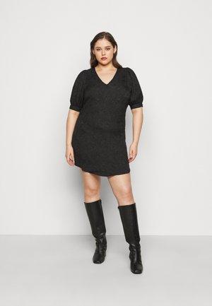 PCDJUNA DRESS CURVE - Vapaa-ajan mekko - black