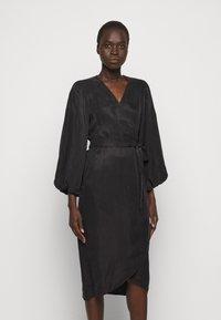 Bruuns Bazaar - SIANNA MONNIKA DRESS - Day dress - black - 0