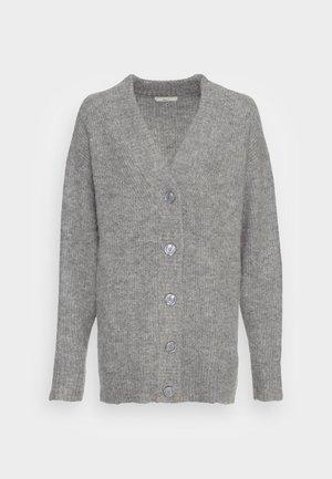 CARDIGAN - Cardigan - mid grey mel